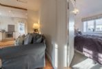 Ground floor: Looking through to master bedroom