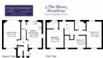 The Mews Floorplan - StayCotswold