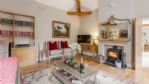 Dove Cottage Lounge with Wood Burner - StayCotswold