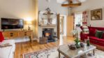 Dove Cottage Lounge and Wood Burner - StayCotswold