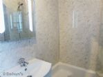 HERE YOU HAVE A WC, SHOWER, BASIN & MINI BATH WITH  INTEGRAL SEAT