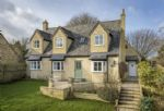 Upper End House is a contemporary home of Cotswold stone construction