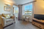 Ground floor: Sitting area with views onto Barnaby Green