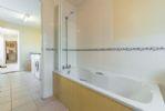 Ground floor: Bath with shower over