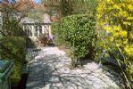Enclosed courtyard garden