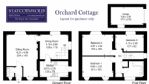 Orchard Cottage Floor Plan - StayCotswold