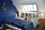 On the top floor this superb double bedroom enjoys the best views ...