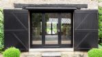 Baxters Farm Barn - Glazed Barn Doors - StayCotswold