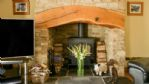 Pear Tree House Wood Burner - StayCotswold
