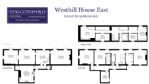 Westhill House East, Floor Plan - StayCotswold