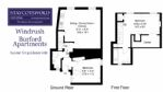 Burford Apartments - Windrush Floorplan - StayCotswold