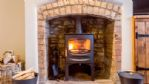 Longborough House Wood Burner - StayCotswold