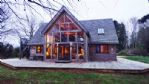 Great Moor Lake House Winter View - StayCotswold