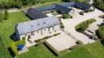 The Chimney Farm Barns - Aerial View - StayCotswold