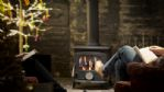 The Old Hunting Lodge Wood Burner - StayCotswold