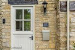 The Reading Room Front Door - StayCotswold