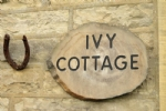 Ivy Cottage over looking the village green in West Burton, Wensleydale in the Yorkshire Dales