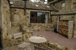 Spacious lounge, dining and kitchen at Holt Barn, Newlands Farm near Kirkby Malzeard in Nidderdale AONB