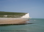 Thumbnail Image - Seven Sisters cliffs from the beach at Cuckmere Haven