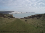 Thumbnail Image - Looking east from the cliff path on Seaford Head