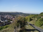 Thumbnail Image - Looking west over Lewes from above the Cliffe