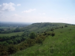 Thumbnail Image - Looking east along the Downs from Ditchling Beacon