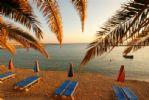 Corallia Beach at Dusk