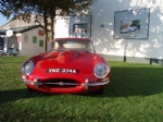Thumbnail Image - and Jaguar outside the Earls Court Motor Show