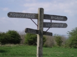 Thumbnail Image - Stane Street crossing the top of the Downs at Bignor