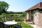 Thumbnail Image - The entrance to the cottage and the private garden area