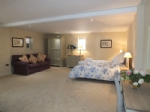The spacious, 'hotel style' master bedroom, Kent