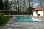 Thumbnail Image - The pool with the tennis court beyond