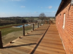 The first floor decking has awe inspiring views!