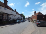 The picture postcard village of Goudhurst, Kent