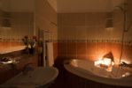 Jacuzzi Bath at Night