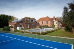 The property enjoys its own tennis court and swimming pool (available in the summer)