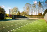 Use of hard tennis court by arrangement