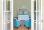 Lower ground floor: double bedroom with a king-size bed