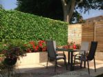 Thumbnail Image - The sunny patio terrace with outside furniture