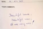 Nice Guest Book Comments