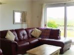 Lovely big, soft, sofa for relaxing and enjoying the views