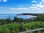 Cayton Bay and spectacular sea views  from Knipe Point