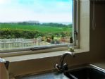Kitchen - view of the sea and Scarborough across the south bay