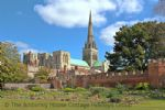 Thumbnail Image - Chichester walls and cathedral