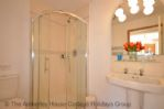 Thumbnail Image - The ground floor bathroom with corner shower