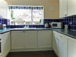 A good sized kitchen, well equipped with the usual appliances as well as  a fridge freezer and a washer dryer.