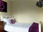 The twin room, spacious and comfortable.