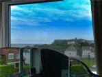 Looking over toward Scarborough Castle.