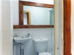 One of the 3 bathrooms with walk in shower.