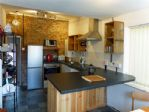 Kitchen and dining area, spacious and well equipped.